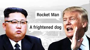 "「trump said ""Rocket boy""」の画像検索結果"