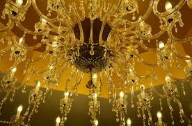 chandelier light candlestick lighting crystal glass