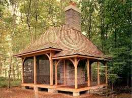 backyard screen house talentneeds com bower woods llc custom garden structures rustic pergolas