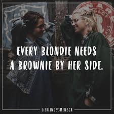Every Blondie Needs A Brownie By Her Side Best Friends Forever