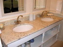 image of bathroom granite countertop ideas