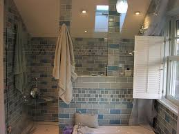 bathroom shower tile design color combinations: bathroom design exotic master tile designs small space with blue color ceramic layout glass door modern