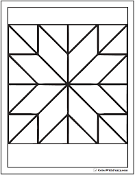 Small Picture Sensational Design Ideas Coloring Pages Of Patterns Star Quilt