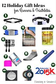 12 gift ideas for runners and triathletes