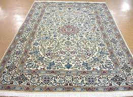 blue oriental rugs blue oriental rug 7 x hand knotted wool ivory red new and best blue oriental rugs