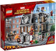 Mua đồ chơi LEGO 76108 Infinity War: Sanctum Sanctorum Showdown. Giá:  3.890.000 (giá gốc: 4.899.000). LEGO Chính hãng. Haypley - Hệ thố…