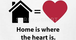 Home Is Where The Heart Is Quote Symbols By Azza40 Spreadshirt Mesmerizing Home Is Where The Heart Is Quote