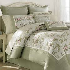 Laura Ashley Caroline 4-piece Comforter Set by Laura Ashley ... & Laura Ashley Caroline 4-piece Comforter Set by Laura Ashley Adamdwight.com