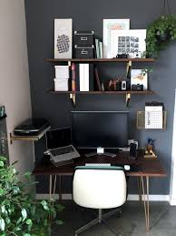 office space desk. danielu0027s diy desk and office space u2014 makeover apartment therapy a