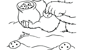 Funny Monster Coloring Pages Cookie Monster Coloring Pages Preschool