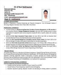 Sample Resume For Mechanical Engineer Fresher Pdf Valid Mechanical