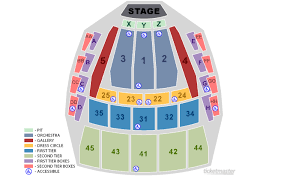 33 Logical Seattle Seating Chart