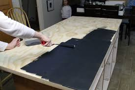 Can I Paint Countertops Diy Faux Soapstone Countertop Chris Loves Julia