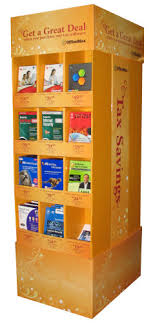 Book Display Stand Staples Cardboard Displays Custom Point Of Sale POS Displays 62