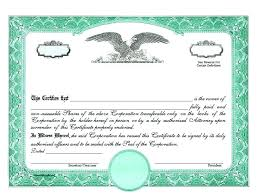 Example Of Share Certificate Adorable Template Template Cv Word Corporate Bond Certificate Stock Blank