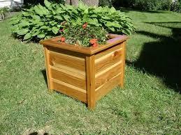 outdoor planter boxes. Custom Made Planter Box - Cedar Outdoor Boxes
