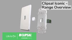 Clipsal Iconic Light Switch Switches And Sockets Sae Clipsal By Schneider Electric