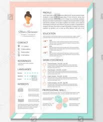 15+ Beautiful Feminine Resume Templates (Psd & Word) - Xdesigns