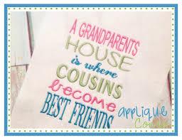 Applique Corner Applique Design Cousin Best Friend Saying Embroidery Impressive Cousin Saying Pics