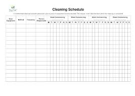 Examples Of Cleaning Schedules Office Cleaning Checklist Template Office Cleaning Checklist