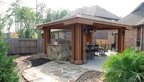 stone patios decks pergolas wooden
