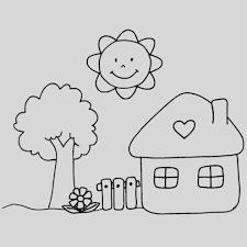 Disegni Da Colorare Per Bambini Con Alberi Da Disegnare Per Bambini