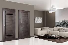 Matrix 02 Gray Oak Modern Interior Door