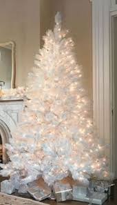 White Christmas Tree, good idea and no ornaments to buy! Tone on tone . 125 Best WHITE \