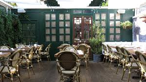 Outdoor Dining Greenwich Village Nyc