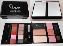 makeup sets over 60 off makeover essentials beauty diary kit free brush set mag was sold