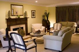 Warm Colored Living Rooms Classy Warm Living Room Paint Color With Blue Wall Color And