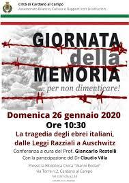 Giornata della Memoria 2020: il ricordo delle vittime dell ...