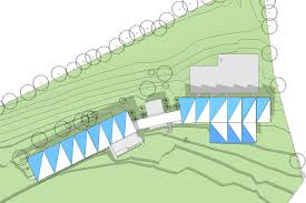 guide dogs victoria bamford architects gdv site plan