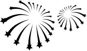 fireworks clipart black and white transparent. Fine White Png Black And White Fireworks Clipart Pops On The River For Clipart Black And White Transparent E