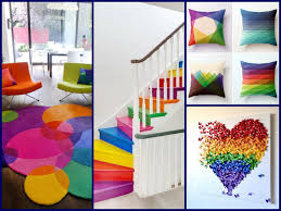 spring decor ideas rainbow home decorating ideas youtube