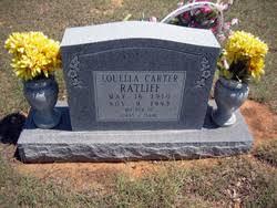 Louella Carter Ratliff (1910-1993) - Find A Grave Memorial