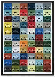 Fiat 500 Colour Chart Guy Allen 500 Colours