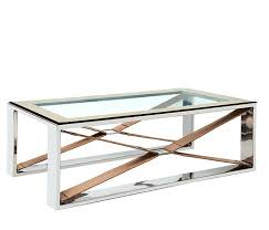 modern coffee table riders cross modern coffee table with stainless steel and leather accents modern coffee table