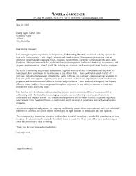 Cover Letter Examples Marketing Manager Cover Letter Examples Library