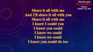 Jessie Ware Share It All Lyrics