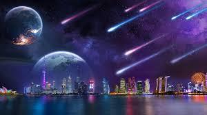 Stellar City 4K Wallpapers