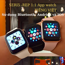 Đồng hồ thông minh T500 Smart Watch seri 5 tặng cáp sạc thay được dây chống  nước nghe gọi đo nhịp tim đếm bước giống iWatch 99%