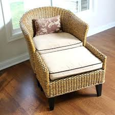 pier one wicker chair cushions wicker chair and ottoman by pier 1 imports pier 1 patio chair cushions