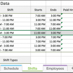 employee availability template excel free excel employee scheduling template when i work employee