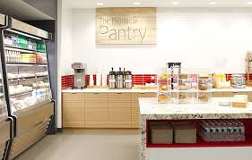 office pantry. The Pinnacle Pantry Is A Grab-n-go Cafeteria Where Employees Can Purchase Breakfast Office