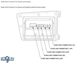 civic audio wiring guide pinouts for factory radio th 2012 civic audio wiring guide pinouts for factory radio 9th generation honda civic forum