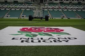 england rugby rose logo mat at twickenham stadium