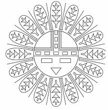 Native American Symbols Coloring Pages - GetColoringPages.com