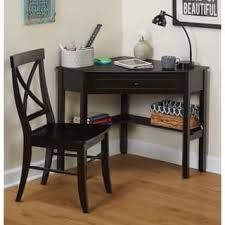 home office corner. Simple Living Black Corner Desk And Crossback Chair 2-piece Study Set Home Office