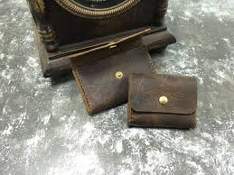 crazy horse purse brown coffee copper buckle handmade leather custom made models designer ansr i